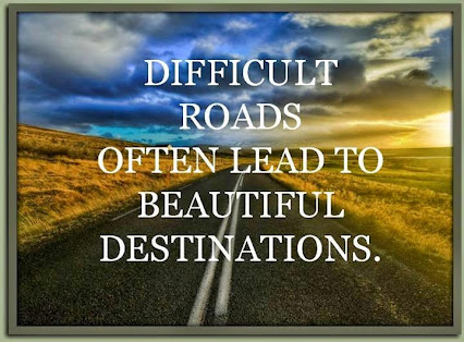 Keep on Moving Forward --even through the Difficulties