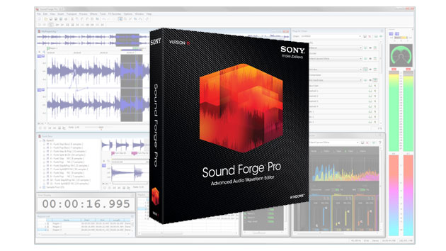 Sony Sound Forge Pro 11 Pre Activated Image