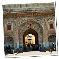 Entrada al observatorio, Jaipur