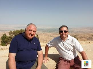 Mihail Manole în dialog cu fratele pastor Viorel Candrianu despre Muntele Nebo
