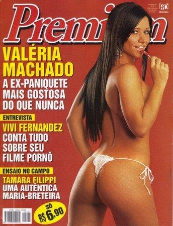 Confira as otos da ex-panicats, Valéria Machado, capa da Sexy Premium de setembro de 2005. Ensaio secundário Tamara Filippi!