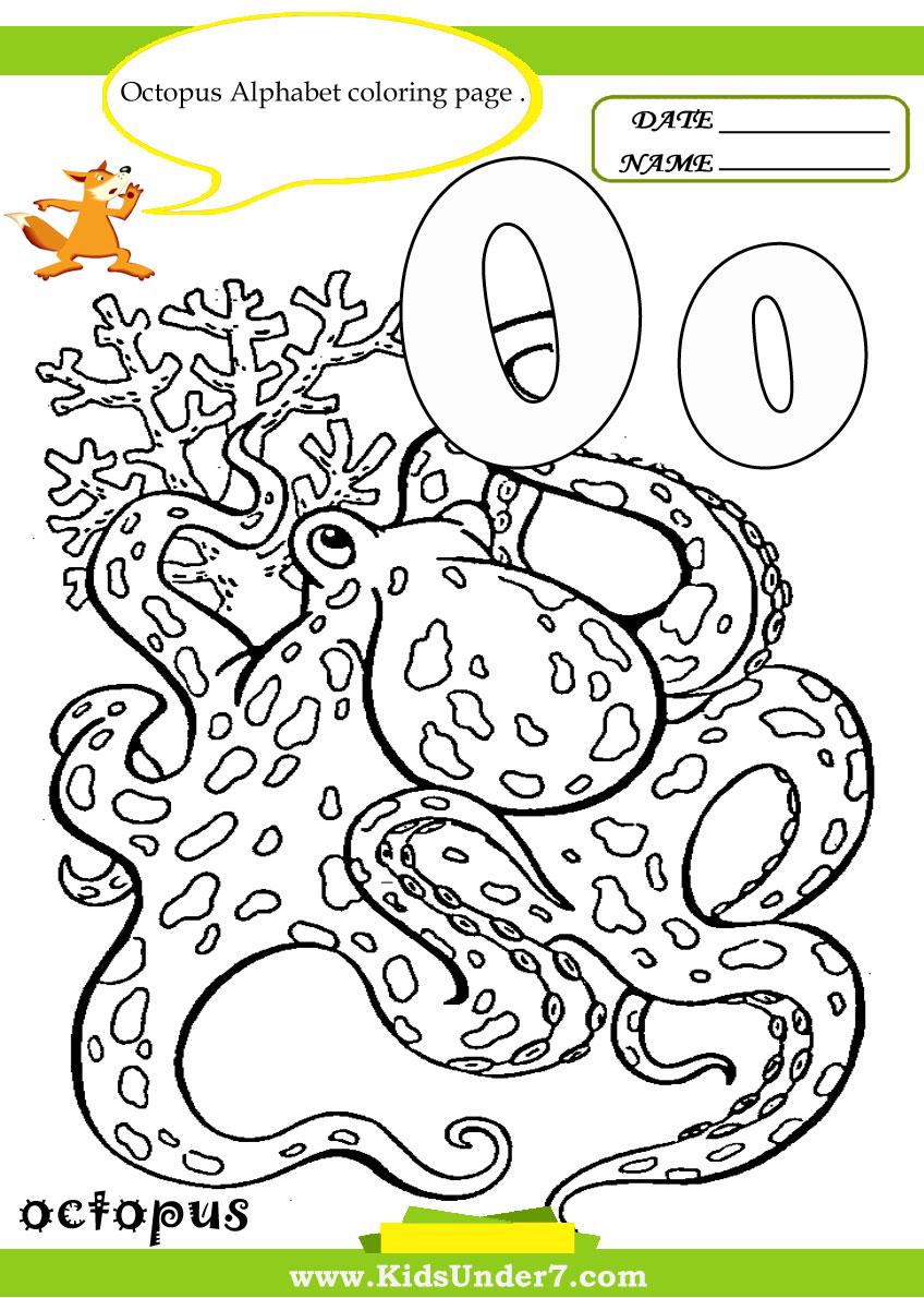 worksheet Letter O Worksheets For Kindergarten kids under 7 letter o worksheets and coloring pages pages
