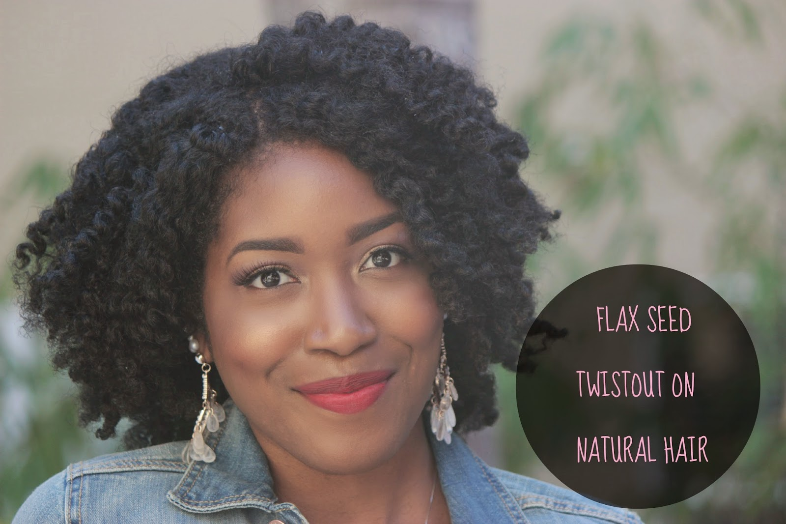 Natural Hair Flaxseed Gel Tutorial