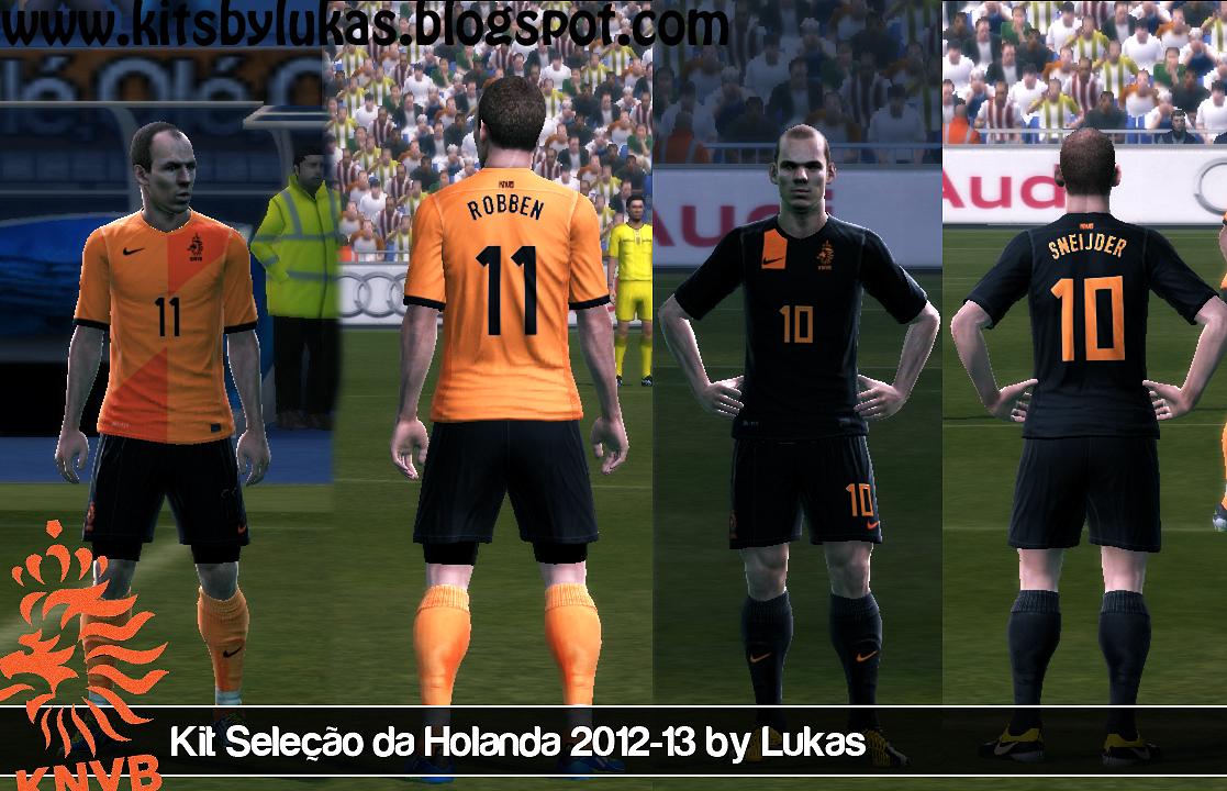 Seleção Holandesa Kitset - PES 2012