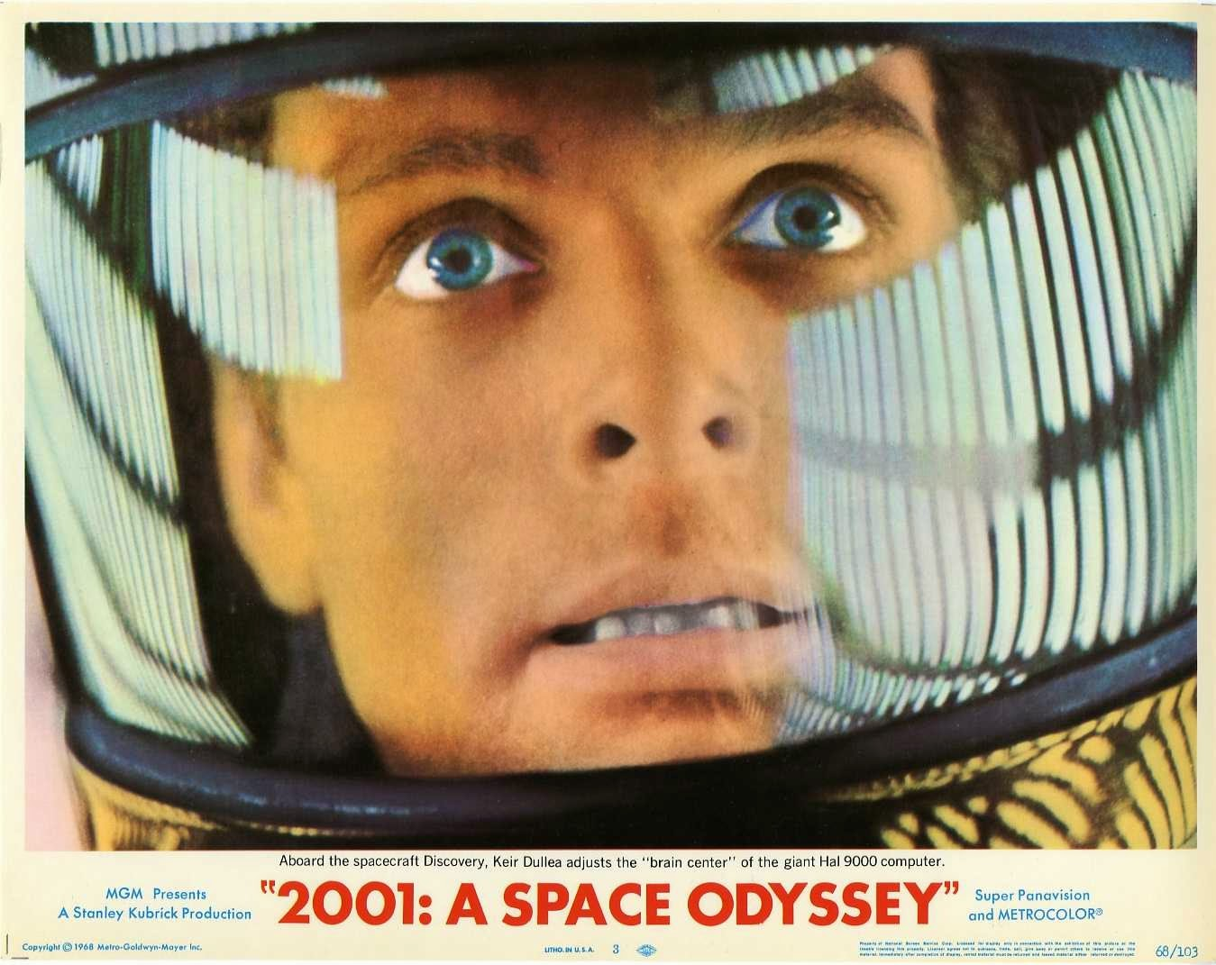 2001 space odyssey poster stanley kubrick