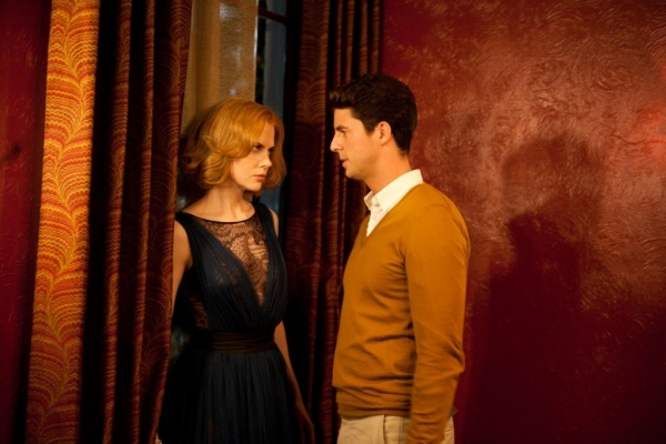 Matthew Goode and Nicole Kidman in Stoker