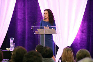 Andie MacDowell at our Club W Event