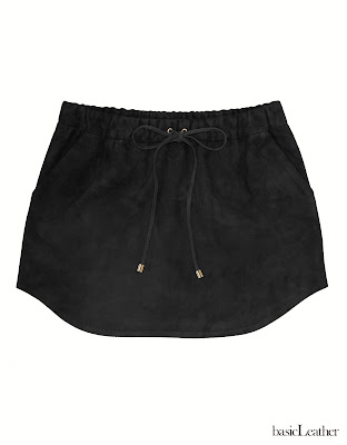 basicLeather, falda cuero, falda ante, leather skirt, suede skirt, falda mini