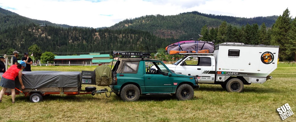 Packing up from the 2014 NW Overland Rally
