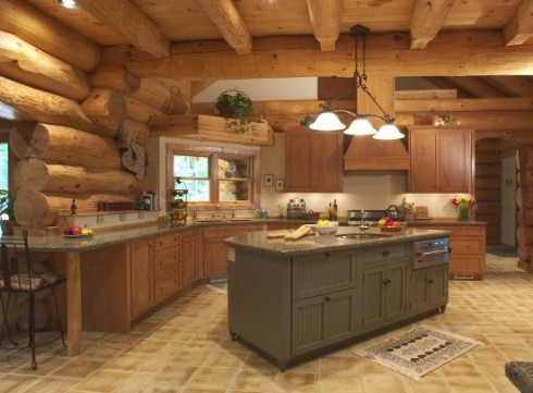 Cedarcreekfurniture log cabin furniture adds style and Cabin kitchen decor