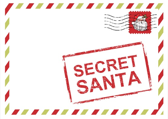 From Your Secret Santa Gift Tag Images & Pictures - Becuo