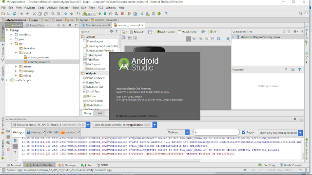 Download In Addition To Operate Android Studio 2.0 Preview On Windows 10