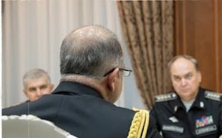 Τους κάνουν ρόμπα! Η κατσάδα του Ρώσου υπουργού στον Τούρκο ναυτικό ακόλουθο σε φωτογραφίες! ΔΕΙΤΕ το ύφος…