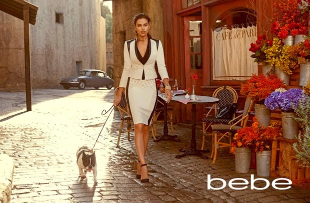 Irina Shayk stars for the Bebe Fall/Winter 2014 Campaign