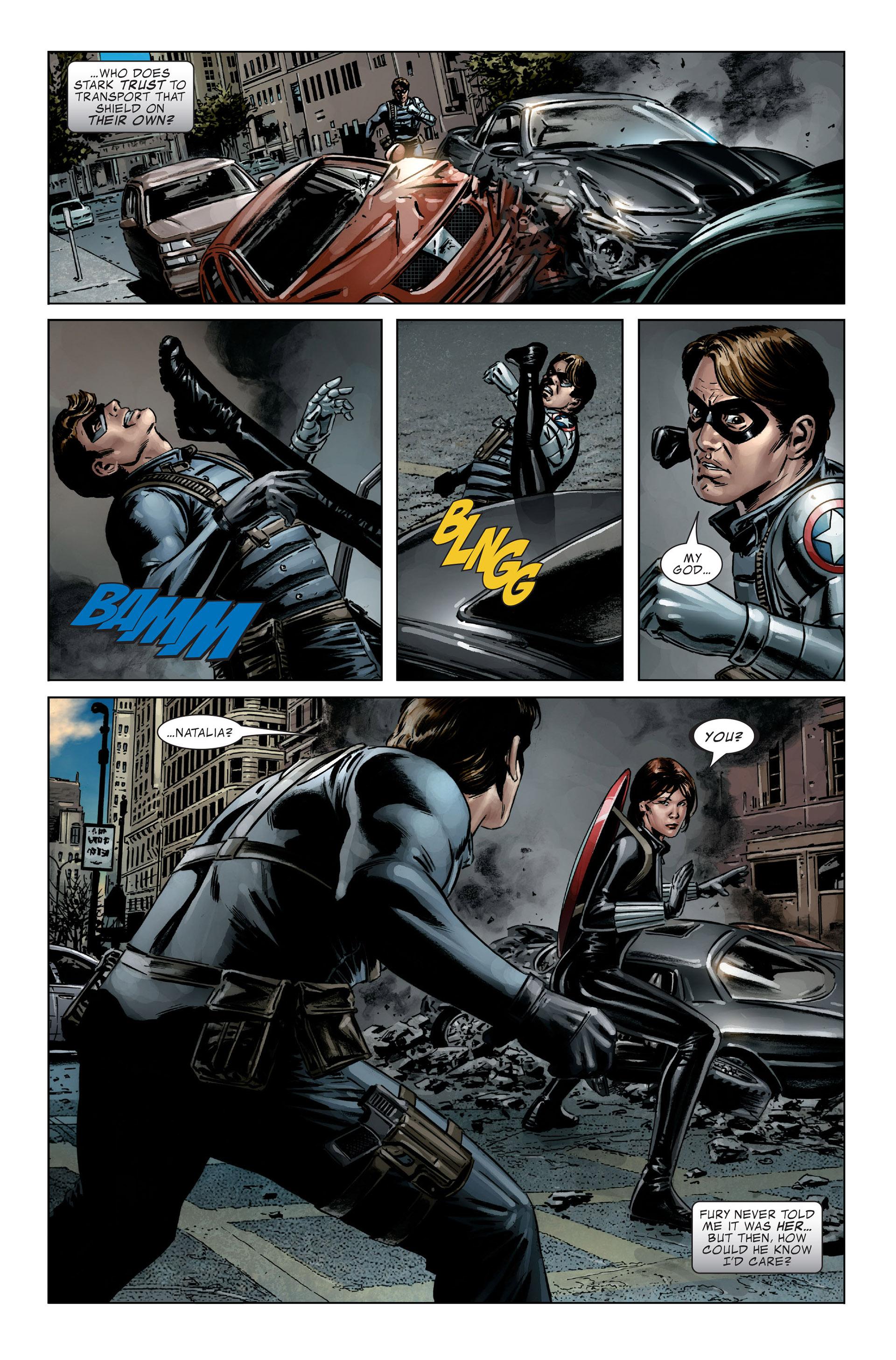 Captain America (2005) Issue #27 #27 - English 15