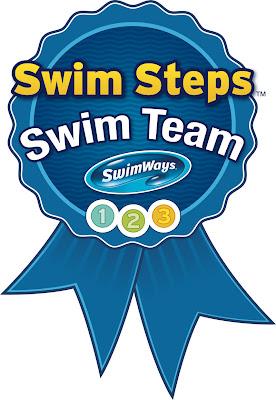 Swim Step Ambassador Logo Badge