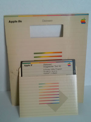 Apple ImageWriter II original 5 1/4 Diskettes
