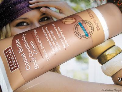 Beauty Formulas cocoa cream