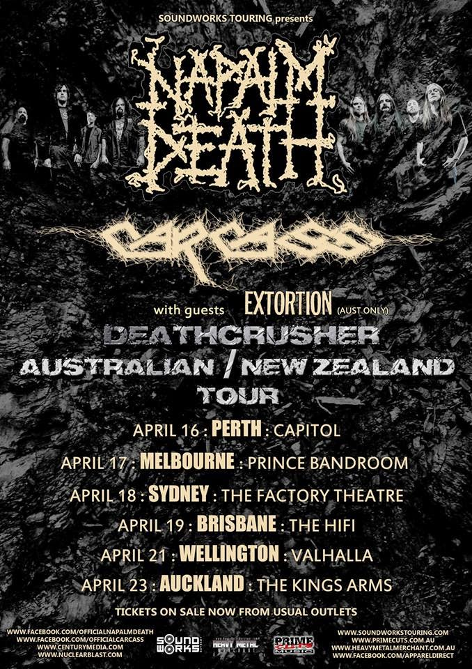 Napalm Death/Carcass