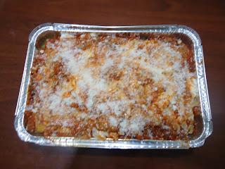 lasagne con ragù di carne e salsa besciamella