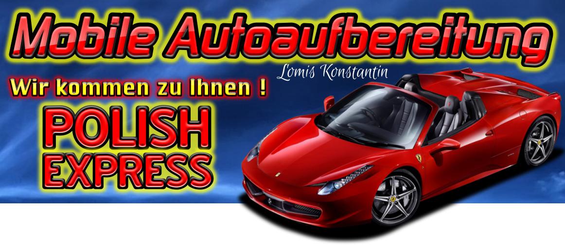 Mobile Autoaufbereitung vor Ort in München
