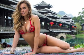 hot Hannah Davis for Sports Illustrated Swimsuit, 2013