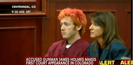 James Holmes First Court Appearance