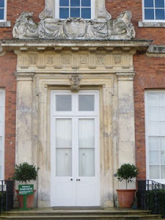 North door at Beningbrough Hall before restoration