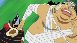 Usopp's training.