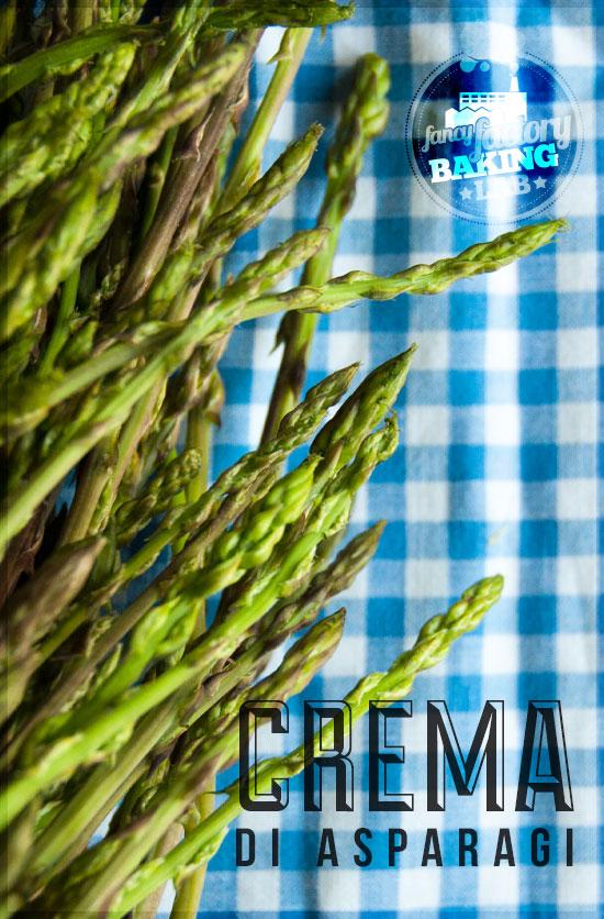crema di asparagi • asparagus cream