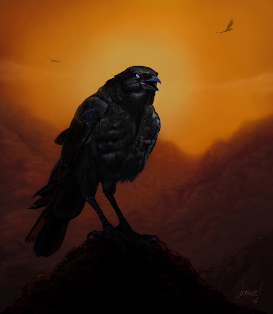 """Consider The Ravens"", Copyright 2013, Jephyr (Jeff Curtis), All Rights Reserved"