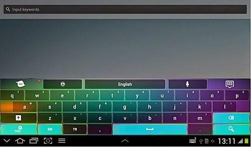 cara ganti dan mengubah tampilan keyboard android