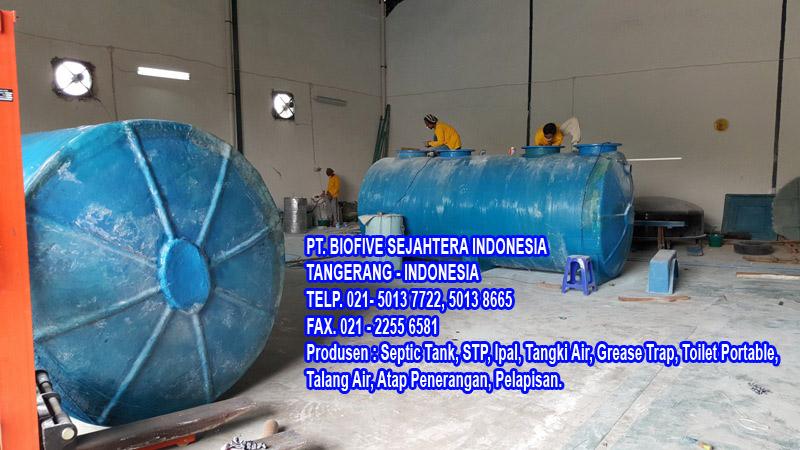 Pabrik PT. Biofive Sejahtera Indonesia