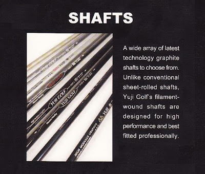 Golf Shafts Singapore