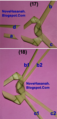 Cara Membuat Kepiting dari Daun Kelapa (Janur) 18