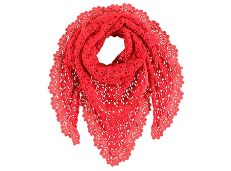 Christmas Tree Crochet Scarf — craftbits.com