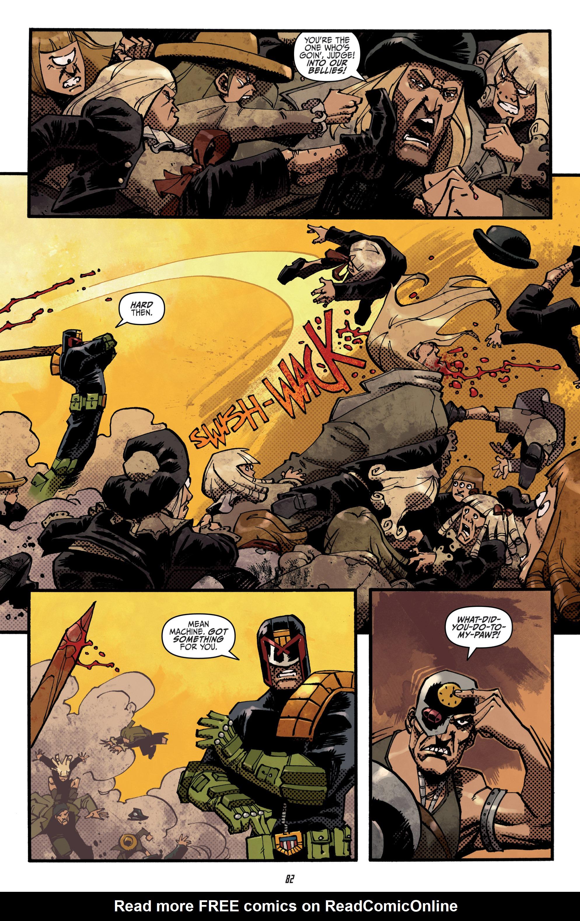 Read online Judge Dredd (2012) comic -  Issue # _TPB 3 - 82