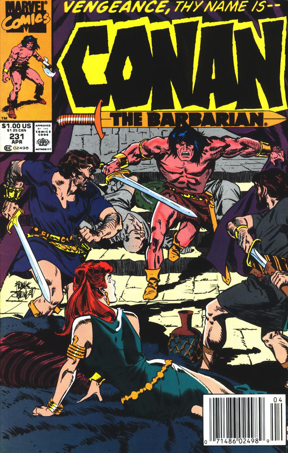 Conan the Barbarian (1970) Issue #231 #243 - English 1