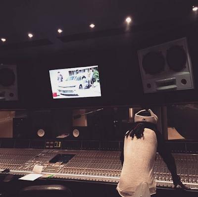 fotos de lil wayne en el estudio