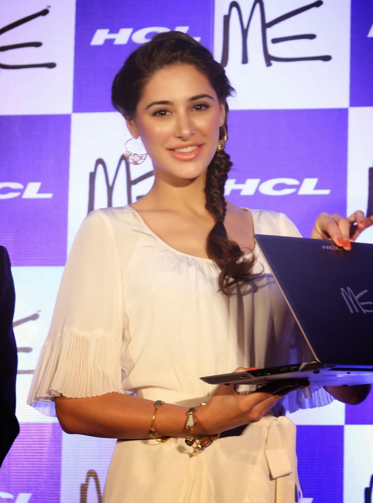 Nargis Fakhri  smiles