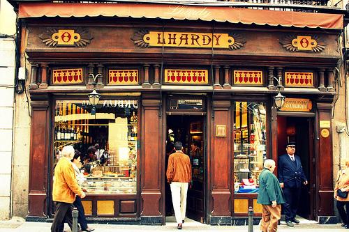 El plan b lhardy en navidad en madrid - Restaurantes madrid navidad ...