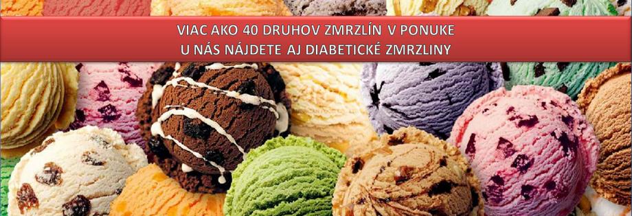 Široká ponuka, u nás nájdete aj diabetické zmrzliny!