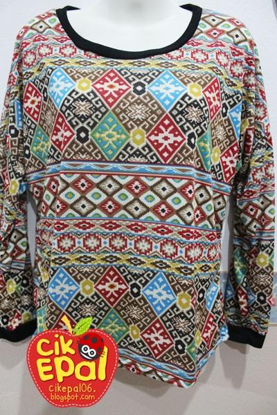 Cik Epal: Anyone interested with Tribal / Aztec Long Sleeve Top ?