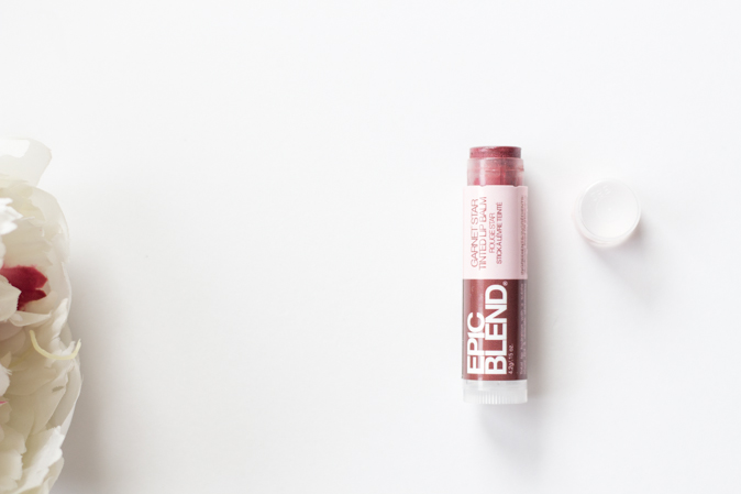 epic blend garnet star tinted lip balm review