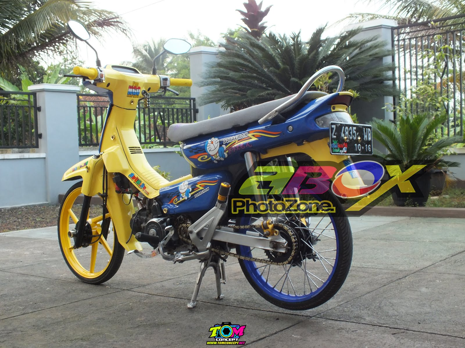 Modifikasi Motor Astrea Grand Thailook
