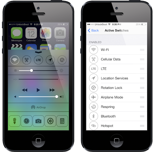 FlipLaunch IOS 7 Tweak
