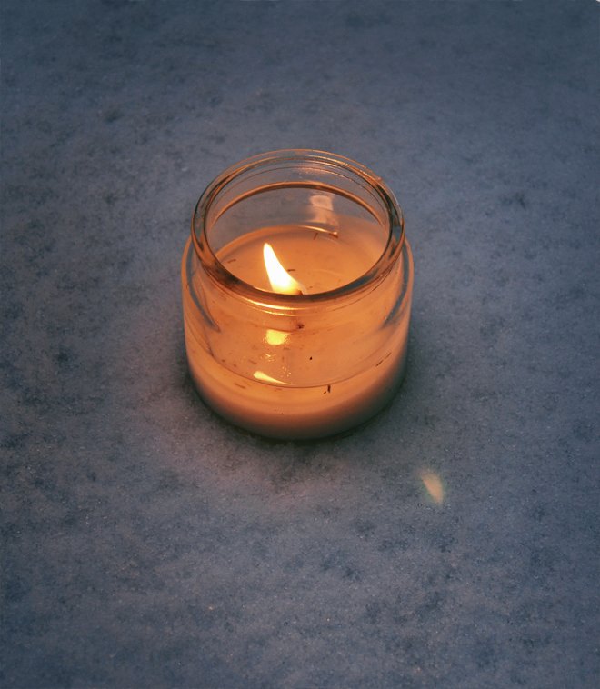 Flying Clubhouse: Homemade Candle