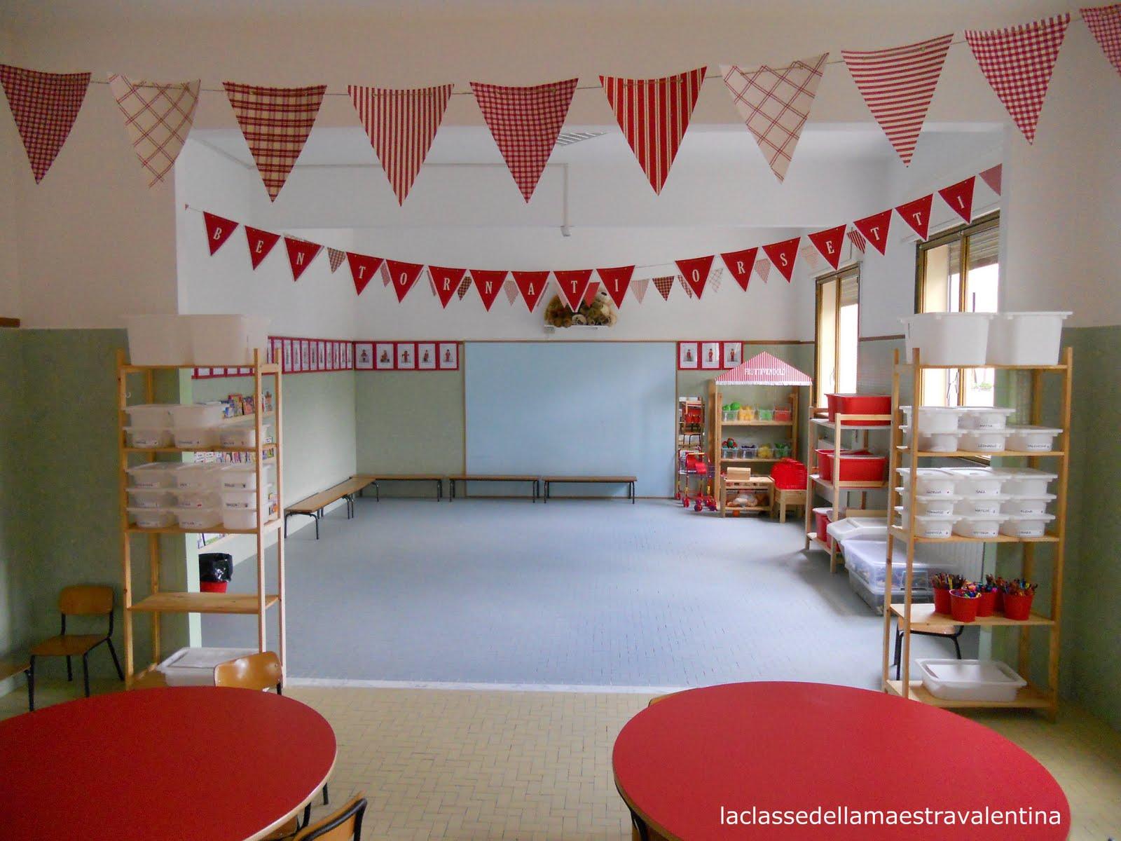 la classe della maestra valentina la scuola e iniziata