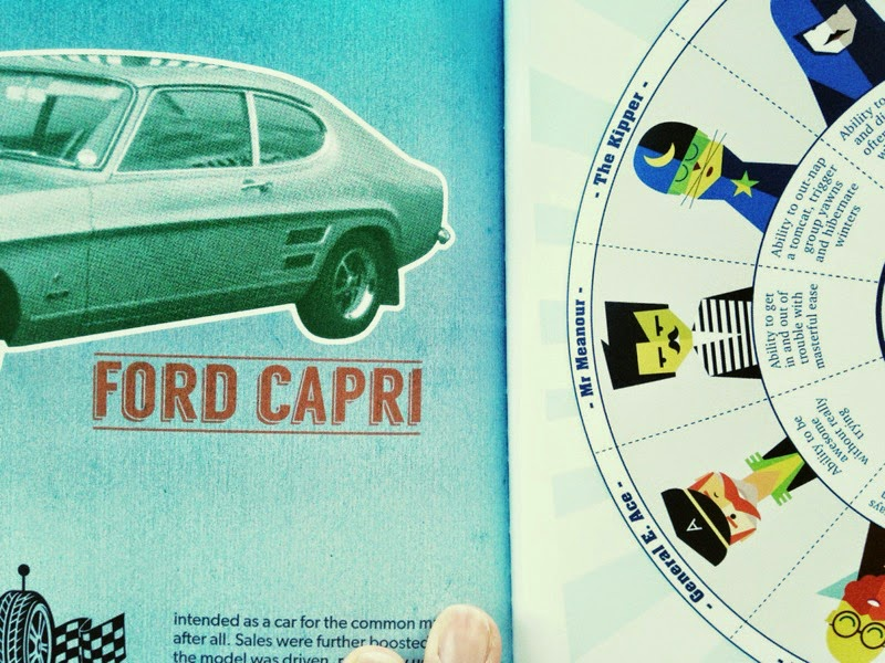 The Book of Everyone personalised gift ford capri page