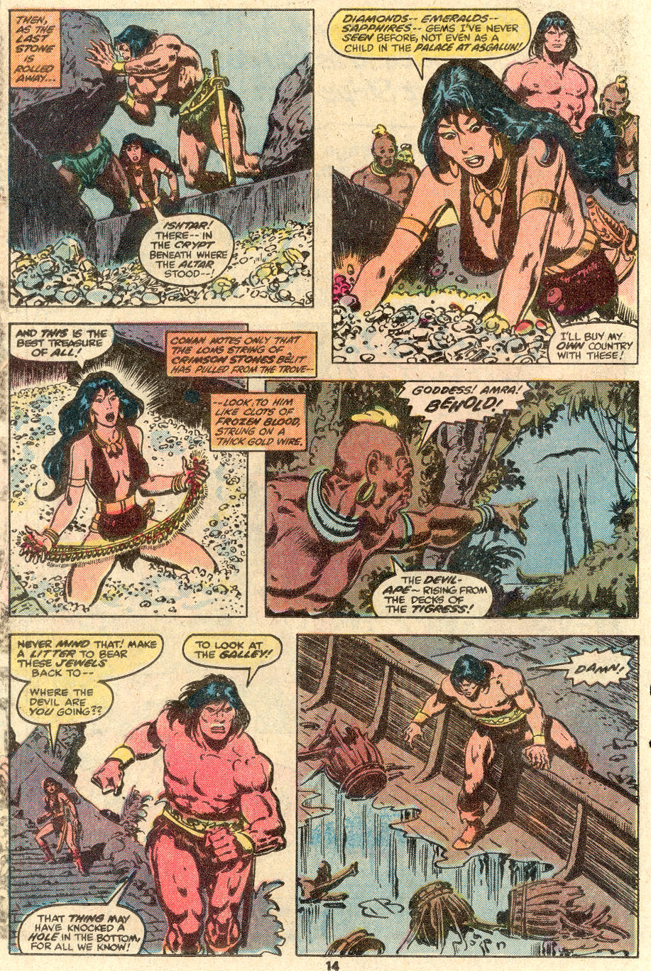 Conan the Barbarian (1970) Issue #100 #112 - English 11